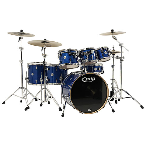 pdp Concept Maple CM7 Blue Sparkle