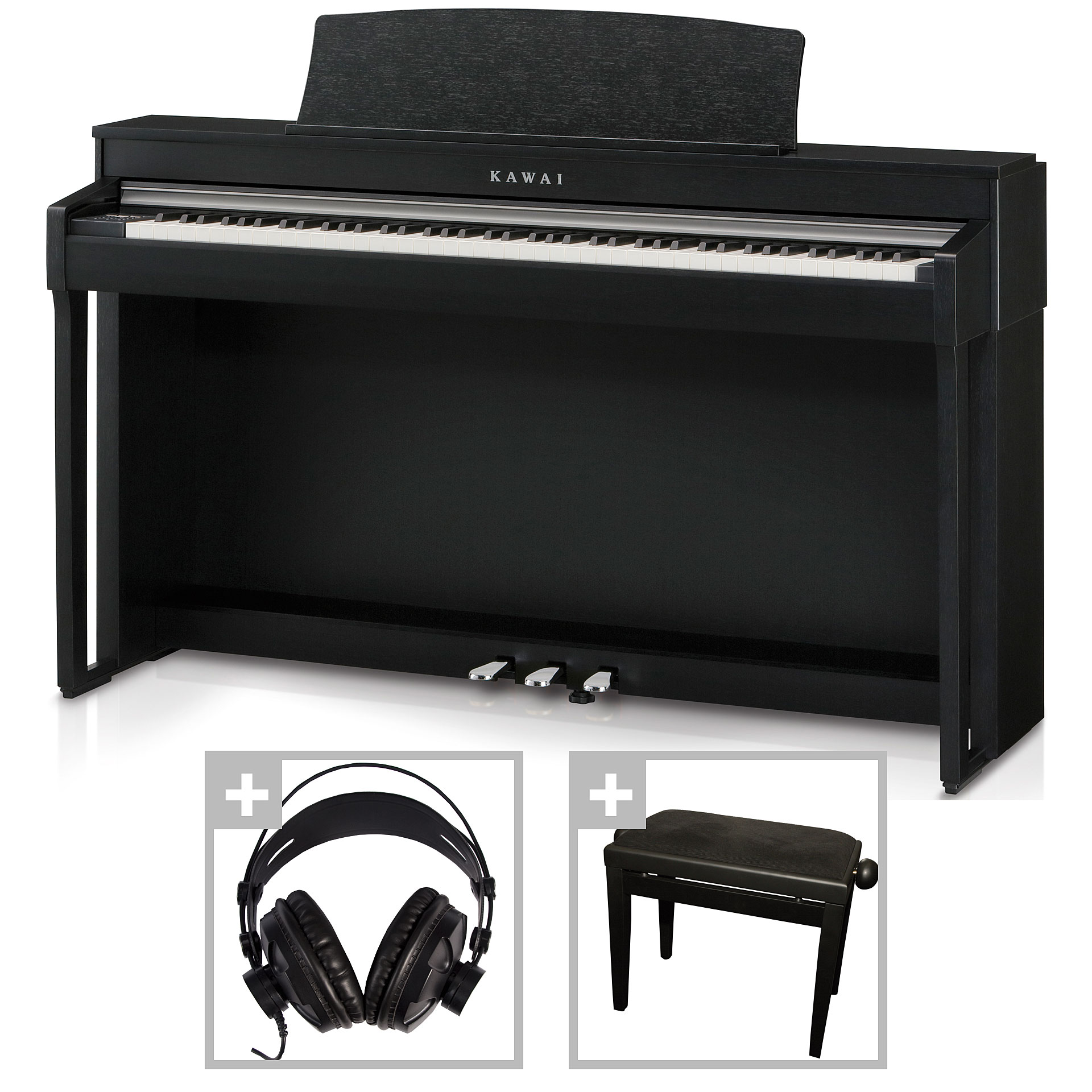kawai cn 37 b set digitalpiano. Black Bedroom Furniture Sets. Home Design Ideas