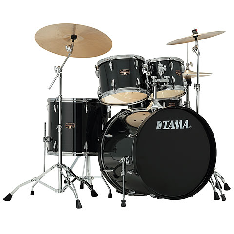Tama Imperialstar 22'' Hairline Black Drums