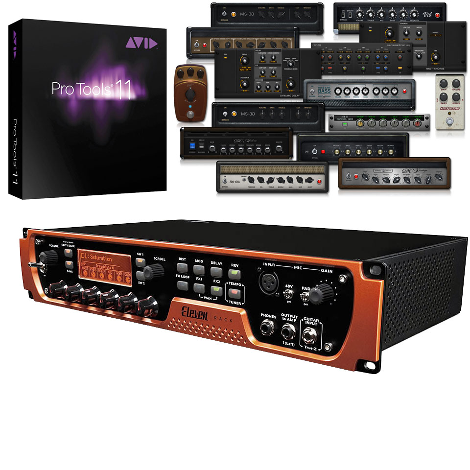 Avid Eleven Rack Pro Tools 1 Year 10093806