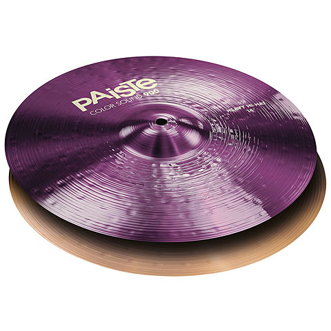 Paiste Color Sound 900 Purple 14  Heavy HiHat
