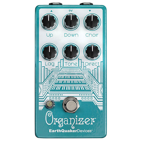 EarthQuaker Devices Organizer V2 Effekte