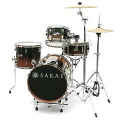Sakae Pac-D Tobacco Fade Compact Drumset