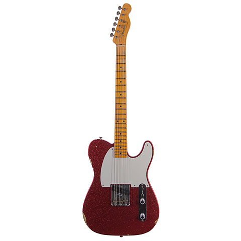 Fender Custom Shop 1955 Esquire Relic Faded Red...