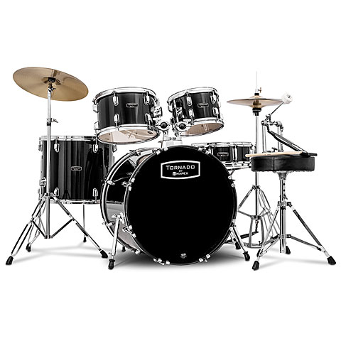 Mapex Tornado 20'' Dark Black Drum Set Drums
