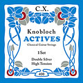 Knobloch Strings Double Silver Carbon 400KAC HT « Saiten Konzertgitarre