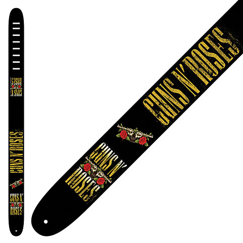 Perri's Leathers Ltd Guns 'N Roses, Yellow