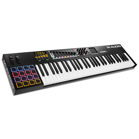 M Audio Code 61 black Masterkeyboards