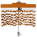 Chimes Gon Bops Waterfall Shell Chimes, Therapie & Klangwelt, Drums/Percussion
