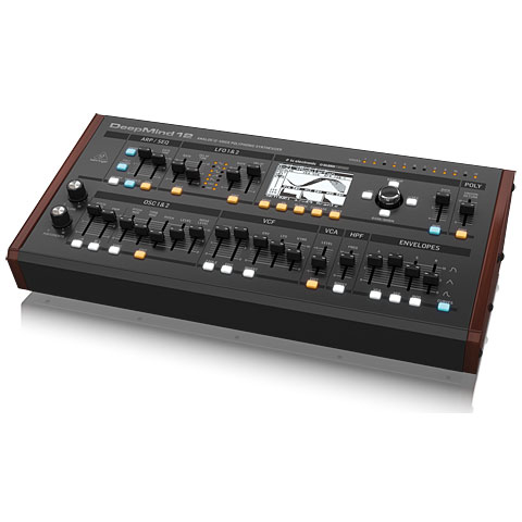 Behringer DeepMind 12D Synthesizer, Sampler