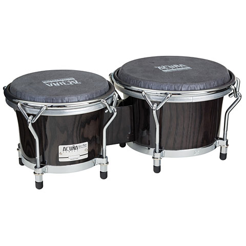 Gon Bops Alex Acuna 7'' 8,5'' Ebony Bongos Special Edition Percussion