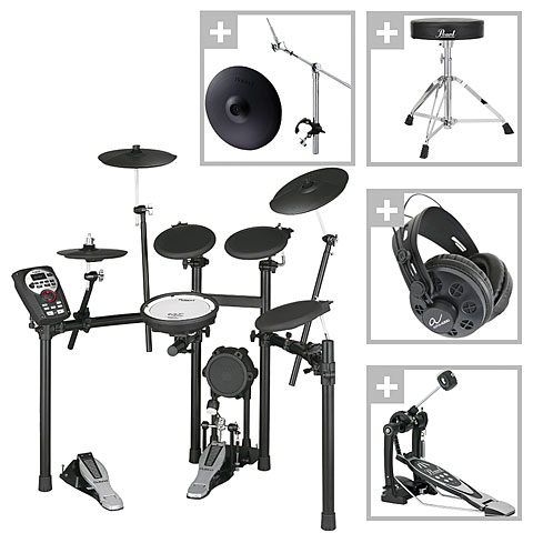 Roland TD 11K V Compact Series Crash Bundle E Drums