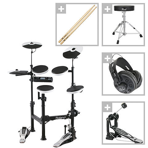 Roland TD 4KP V Compact Series Bundle E Drums