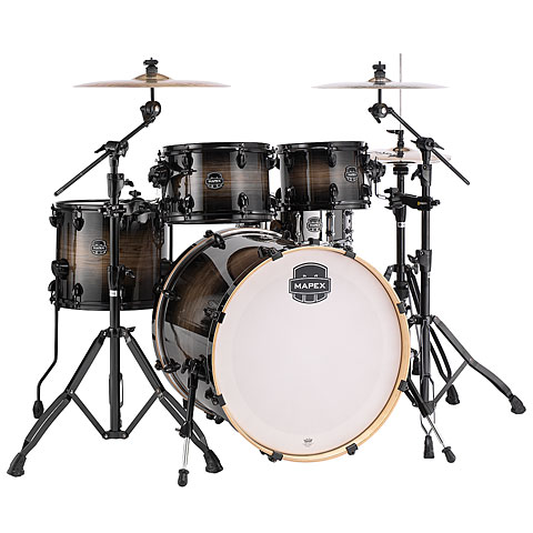 Mapex Armory 22'' Black Dawn Shell Set Drums