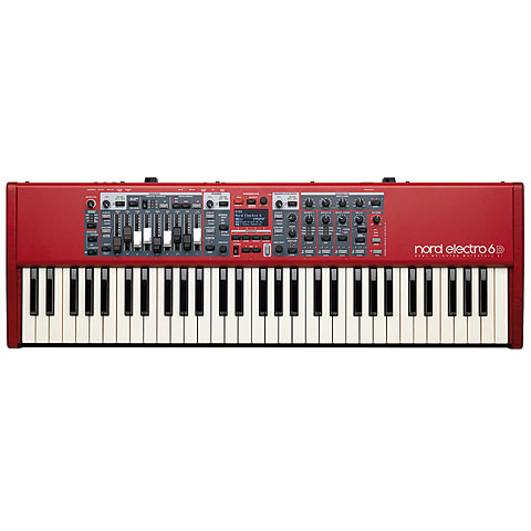 Clavia Nord Electro 6D 61 Synthesizer, Sampler