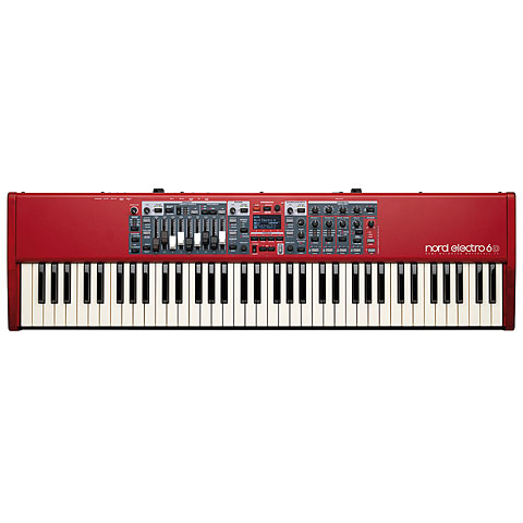 Clavia Nord Electro 6D 73 Synthesizer, Sampler