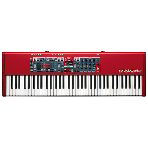 Clavia Nord Electro 6 HP Synthesizer, Sampler
