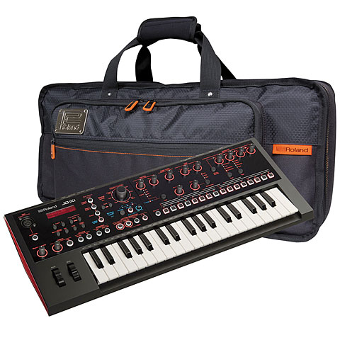Roland JD Xi Bag Bundle Synthesizer, Sampler
