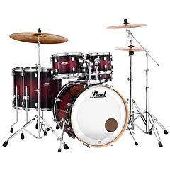 Pearl Decade Maple 22  Gloss Deep Red Burst Drumset