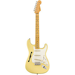 Fender Eric Johnson Thinline Stratocaster, Vintage White « E-Gitarre