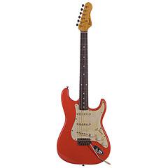 Haar Traditional S, Fiesta Red, aged, RW « E-Gitarre