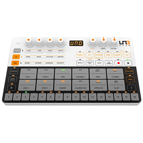 IK Multimedia UNO Drum Synthesizer, Sampler