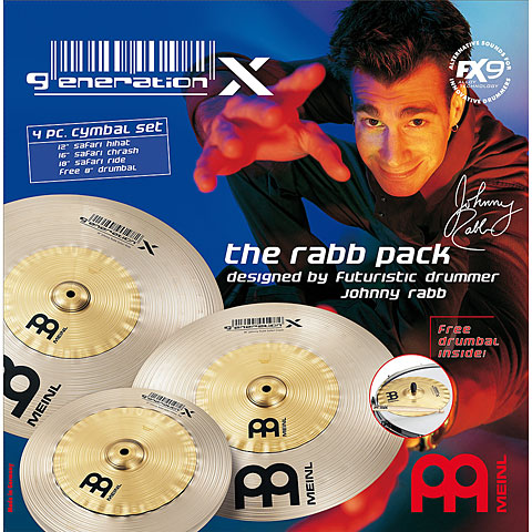 Meinl Generation X The Rabb Pack (12H/16C/18R)