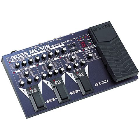 Boss ME 50B Bass Multiple Effects Effekte