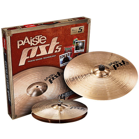 Paiste PST 5 Essential 14/18 Becken-Set