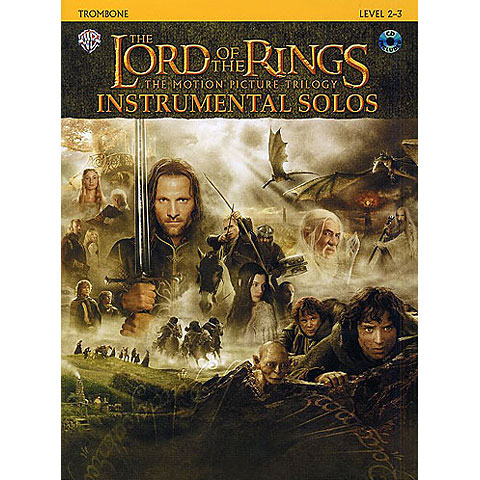 Warner The Lord of the Rings Trilogy for Trombone inkl.CD
